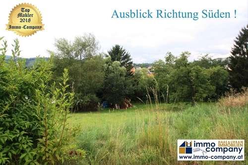 ** * Krumbach - Bucklige Welt *** Grundstück mit ca. 993 m² und wunderschöner Aussicht über den Ort