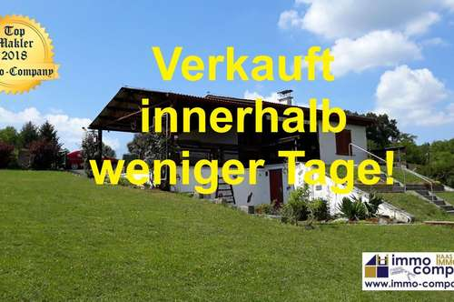 Wunderschönes Einfamilienhaus - mitten im Grünen, ca. 60m² WNfl, ca. 1529m² Grund – Kaufpreis 67.000 Euro!