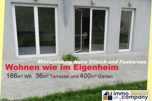 NEUER PREIS !! Exklusive 5-Zimmer-Gartenwohnung am Aichwaldersee