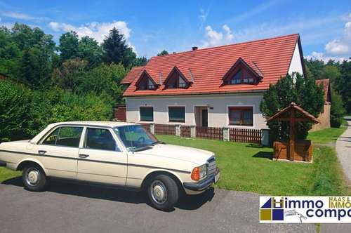 Bezirk Jennersdorf: Großes Einfamilienhaus, 7 Zimmer, 2 Bäder, 2 Küchen, ideal für Ihre Großfamilie, für Ihren Bürobereich – 279.000,- Euro – inkl. ca. 30.000,- Euro WBF