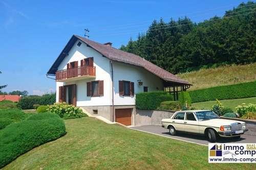 Wunderschönes, gepflegtes Einfamilienhaus mit traumhaften Garten in Jennersdorf, ca. 150m² Wfl., ca. 4300m² Grund – 189.000 Euro!