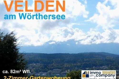 Göriach ob Velden: 2-Zimmer-Gartenwohnung mit Panoramablick