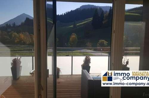 Wohne lieber ungewöhnlich hochwertig – neue 2 Zimmerwohnung in Achenkirch mit Sonderausstattung, Balkon und Tiefgaragenplatz