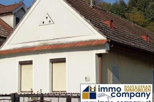 Ebenerdiges Einfamilienhaus mit guter Verkehrsanbindung am Ortsende von Piringsdorf