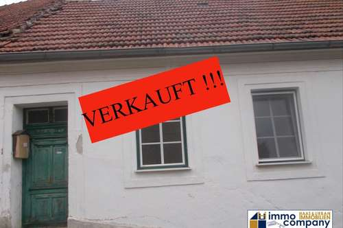 Weinort Falkenstein: Kleines Haus, kleiner Grund, kleiner Preis !!!