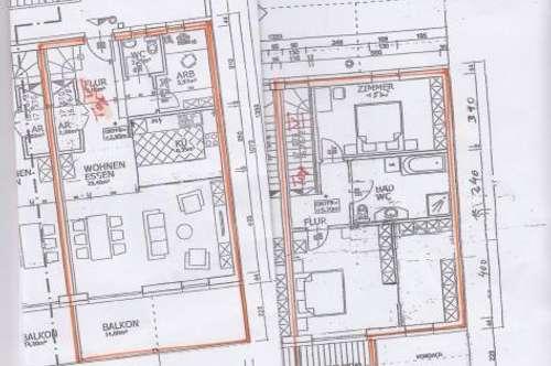 Bezirks Innsbruck-Land: in der Marktgemeinde Telfs sehr schöne 4-Zimmer Wohnung mit herrlicher Aussicht zu vermieten.