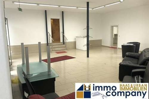 Lustenau: attraktive Gewerbefläche - Geschäfts-, Büro oder Ausstellungsfläche ca 125m² in sehr guter Lage, neben der Schweizer - Grenze, direkt an der Hauptstrasse - SOFORTBEZUG.