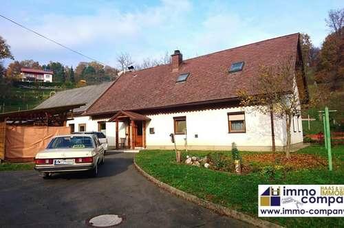 Gepflegtes Einfamilienhaus in Jennersdorf – 5 Zimmer, ca. 120m² Nfl., ca. 6.428m² Grund – 130.000 €