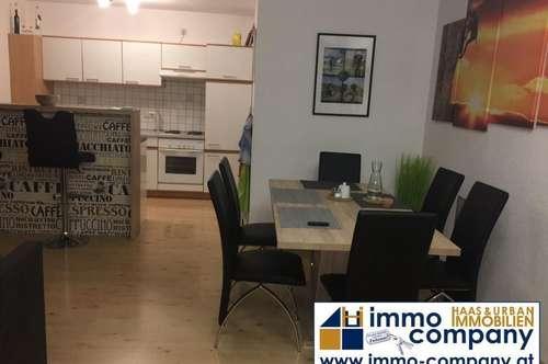 Ranggen – Ruhelage mit Gebirgsblick: Gepflegte 2-Zimmerwohnung mit eigenem Zugang, 80 m² Wfl, Terrasse, Parkplatz, Sofortbezug