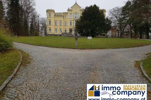 Steyr - Top Eigentumswohnung im Schloss mit Terrasse und Gartenbenützung!!