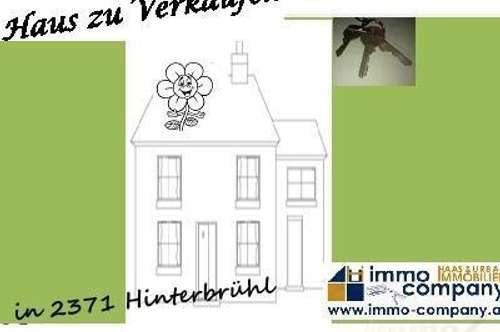 Wohnhaus als Anlage oder eigen nutzen in Hinterbrühl