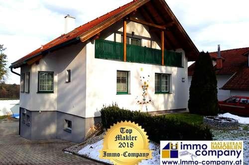 Bezirk Oberpullendorf - Top gepflegtes Einfamilienhaus – ca. 155m² Wfl., ca. 930m² Gfl. – 278.000 Euro Platz satt auf 2 Ebenen – 6 Zimmer, vollunterkellert, Garten mit Pool und und und . . .