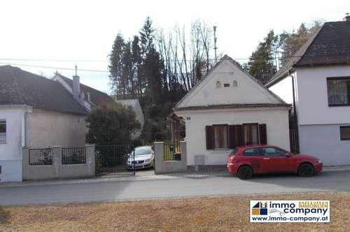 Einfamilienhaus mit Baugrund 450 m² und Ackerland 3000 m² nähe Oberpullendorf - Steinberg Dörfl