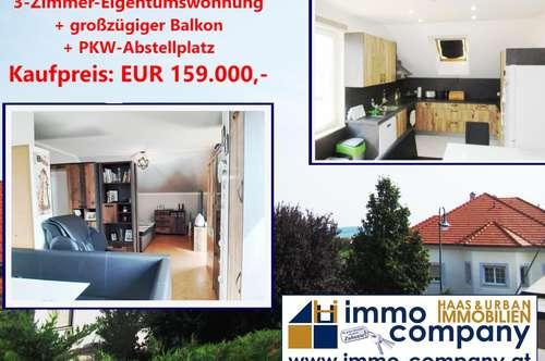 3,2,1..... Unsere 3-Zimmer Eigentumswohnung mitten zwischen Eisenstadt, Mattersburg, Wr. Neustadt