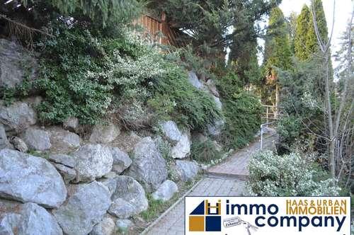 Grazer Stadtrand - ca. 142 Wfl. - ca. 993 m² Gfl. - uneinsichtiger Garten