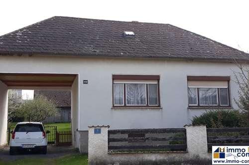 Sanierungsfähiges Einfamilienhaus mit Garten in zentraler Lage in Piringsdorf