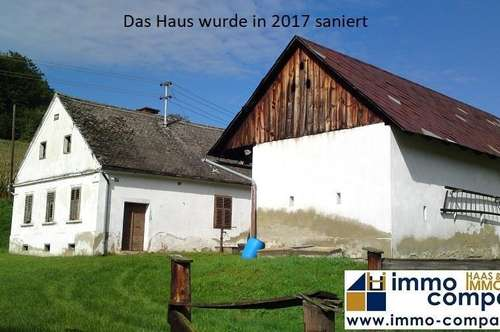 Jennersdorf - In 2017 renovierter Dreiseithof in Traumlage zu mieten