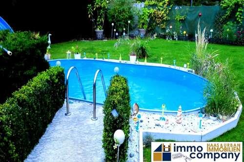 FAMILIENHIT - Herrlicher Ausblick und viel Platz - Pool im Garten - 5 Zimmer