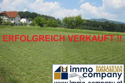 Baugrundstück Nähe Pischelsdorf mit Ausblick