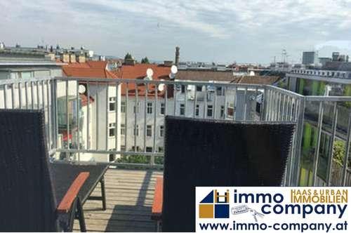 Sonnige Maisonette-Wohnung mit 3 Dachterrassen