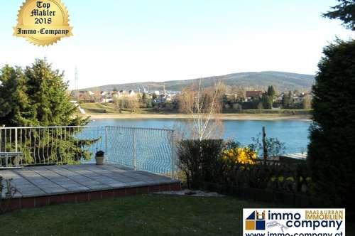 *** Neudörfler Badesee - Bezauberndes Seehaus auf Pachtgrund mit Blick auf den See *** !!! DIREKTER SEEZUGANG !!!
