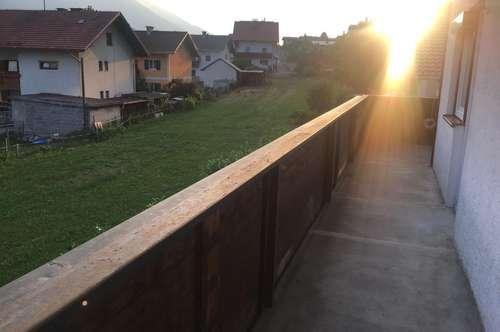 Zirl – sonnige zentrale Ruhelage: Lichtdurchflutete 2,5 Zimmerwohnung, ca. 84 m² Wfl., 30 m² Terrasse mit Grünblick, ab Sep. 2019