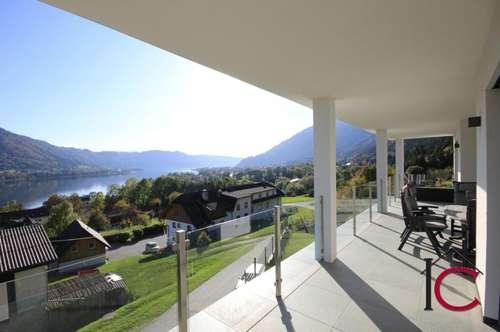 Neues Niedrigenergiehaus in herrlicher Seeblicklage am Ossiacher See