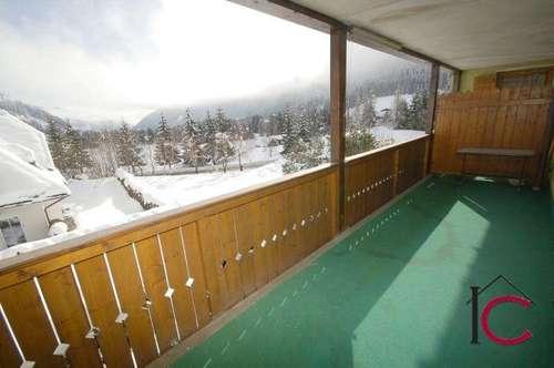 Gepflegtes 2-Zimmer-Appartement mit großer Terrasse und Aussicht