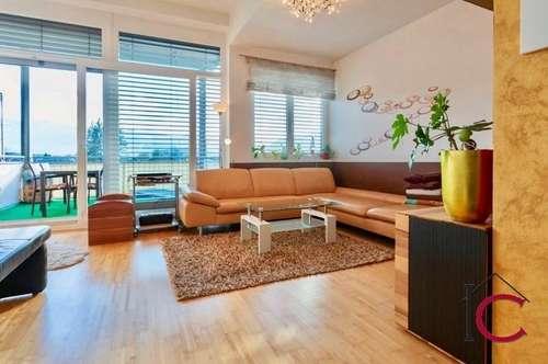 Neuwertige modernstyle Penthousewohnung mit überdachter Südterrasse