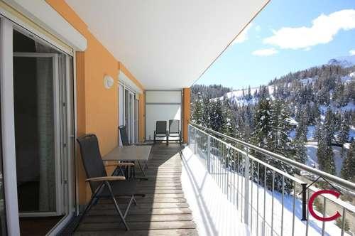 Exklusives Ferienappartement mit Sauna und Aussichtsbalkon an der Sonnenalpe Nassfeld