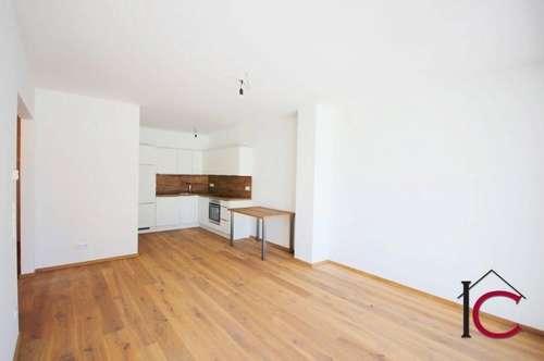 Vermietete neuwertige 2-Zimmer-Eigentumswohnung mit Terrasse und Garten in St. Martin