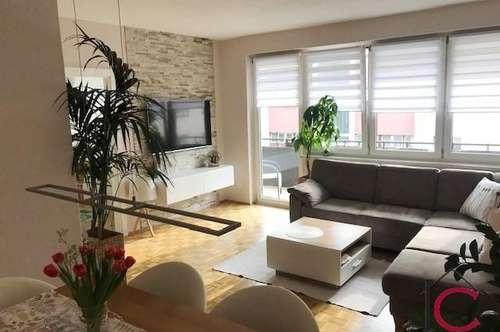 Elegante und moderne 4-Zimmer-Wohnung mit Balkon
