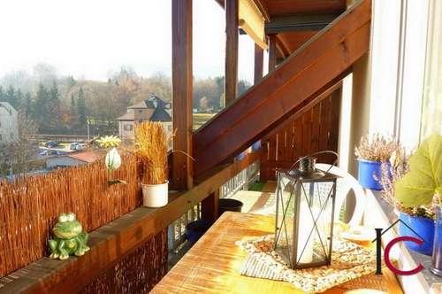Reizende Mietwohnung mit Aussichtsloggia in ruhiger Wohnlage