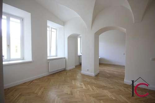 Exklusives Wohnen in hochwertig ausgestatteter Altbauwohnung in ruhiger Stadtlage