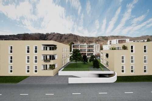 NEUBAU 3-Zimmer-Wohnung - 2 Tiefgaragenpätze