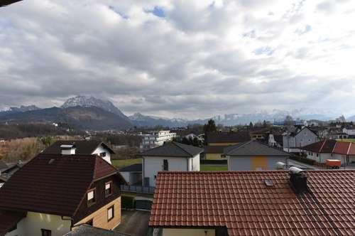 Wohnen im Obergeschoss mit Panoramablick
