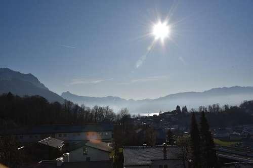 3-Zimmer-Wohnung mit schönem Blick auf den Traunsee und die Berge