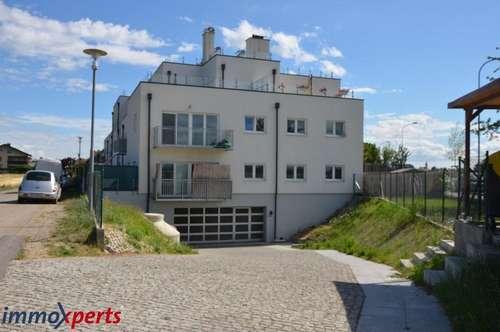 Wohnung mit Terrasse, Küche und Garage