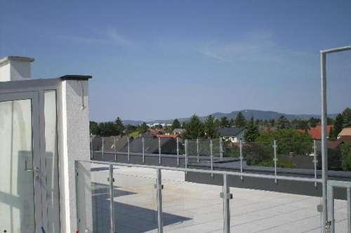 Dachterrassenwohnung mit Doppelgarage in Gerasdorf