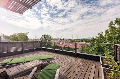 Erstklassig ausgestattete Neubauvilla mit herrlichen Blick in Ruhelage - verkehrsgünstig