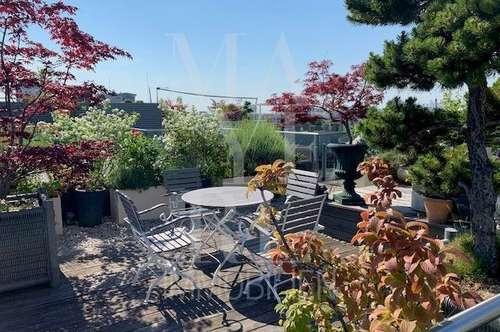 Dachgarten - erstklassige Wohnung