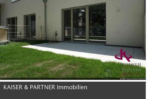 Moderne Gartenmaisonette mit großen Terrassen, Erstbezug!