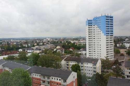 4 Zi. Wohnung ca. 104 m² mit Ausblick über Wels