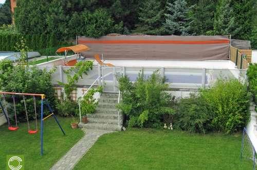 CHRISTOPH CHROMECEK IMMOBILIEN - PERCHTOLDSDORF - Doppelhaushälfte mit Pool!