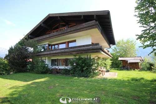 Saalfelden: Einfamilienhaus 336 m² Wohnfläche in absoluter Ruhelage/ Nähe Ritzensee mit unverbaubaren Weitblick