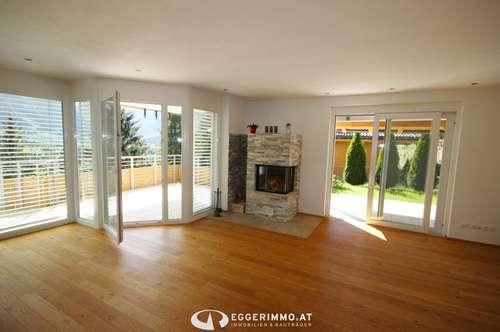 5700 Zell am See : Bruckberg ; 4 Zimmer Wohnung 117m², Garage , Garten, Terrasse, Kamin, neuwertig ! unverbaubarer Weitblick !!