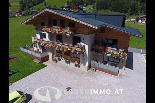 Saalbach-Hinterglemm: TOP 1) 4 Zimmerwohnung 95,74 m², neu renoviert, möbliert, 55m² Terrasse, touristisch vermietbar, Parkplatz, top Lage TV WLAN!!