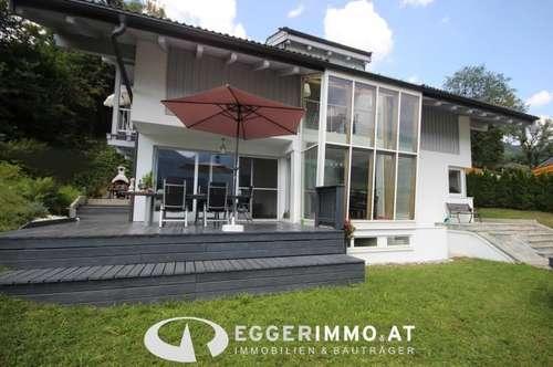 Niedernsill-Lengdorf: gepflegtes,modernes Einfamilienhaus 180m² Whnfl. Doppelgarage, Sauna, Fitness, 3 Terrassen, 3 SZ