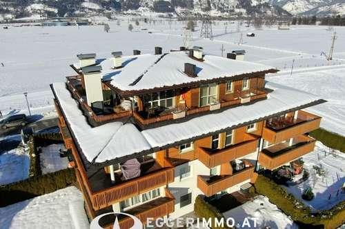 Kaprun :Luxus Penthouse in den Alpen/ Rundumblick 160 m2 Wohnfläche, 2 Tiefgaragenstellplätze, Weitblick, Nähe Zentrum, sonnige Ruhelage