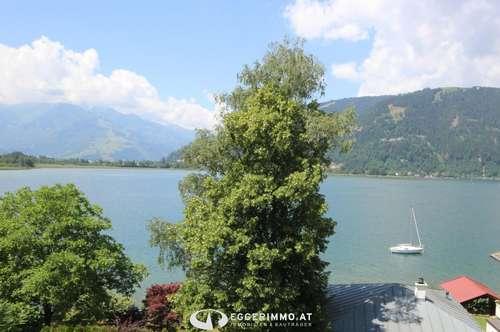 5700 Thumersbach/ Seeuferstrasse: ab Oktober 2019; 4 Zimmer-Dachgeschoßwohnung 100m², Kachelofen, einzigartiger Blick über den Zeller See